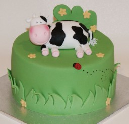 1024x685px Cow Birthday Cakes Design Picture in Birthday Cake