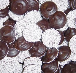 1024x717px Dark Chocolate Nonpareils Picture in Chocolate Cake
