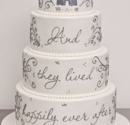 1024x1536px Fairytale Wedding Cake Picture in Wedding Cake