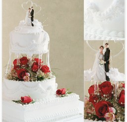 1024x1024px Holly Brookshires Wedding Cakes Picture in Wedding Cake