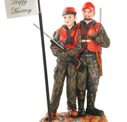 1024x1306px Hunting Wedding Cake Toppers Picture in Wedding Cake