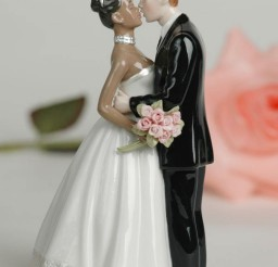 1024x1335px Interracial Biracial Wedding Cake Topper Picture in Wedding Cake