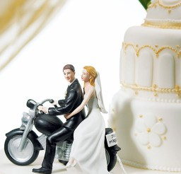1024x1229px Motorcycle Wedding Cake Topper Picture in Wedding Cake