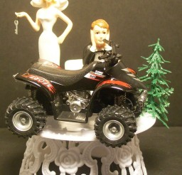 1024x1286px Sporty ATV Wedding Cake Topper Picture in Wedding Cake