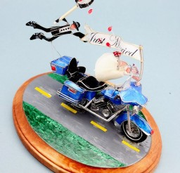 1024x1241px The Custom Motorcycle Wedding Cake Topper Picture in Wedding Cake