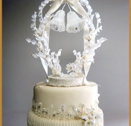 1024x1365px Vintage Wedding Bells Cakes Topper Picture in Wedding Cake