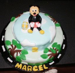 1024x685px Homemade Mickey Mouse Birthday Cake Design Picture in Birthday Cake