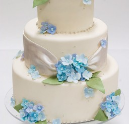 1024x1535px Hydrangea Wedding Cake Decorations Picture in Wedding Cake