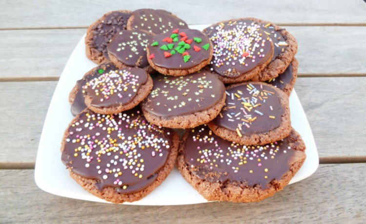 Nigella Chocolate Christmas Cookies Oprah Picture in Chocolate Cake