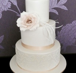 1024x1365px Triple Layer Wedding Cake Design 3 Picture in Wedding Cake