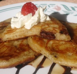 591x435px How To Make Pancakes From Scratch Without Milk Picture in pancakes