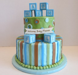 3200x2400px Baby Blocks Cake Picture in Cake Decor
