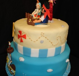 960x1280px Fondant Jake And The Neverland Pirates Picture in Cake Decor