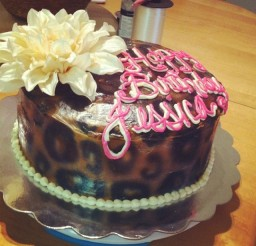 640x960px Leopard Print Cake Decorations Picture in Cake Decor