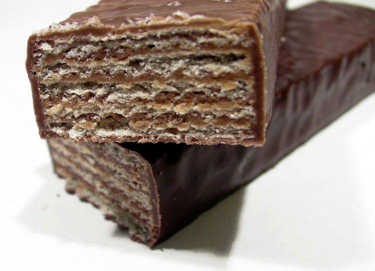 Chocolate Wafers Picture in Chocolate Cake